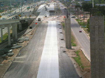 KATY Freeway Tall Piers