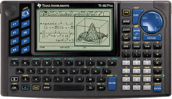 The TI-92 Graphing Calculator, once the powerhouse of the calculator universe. Courtesy of www.ti.com