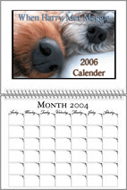 Our 2006 Dog Calender: When Harry Met Maggie