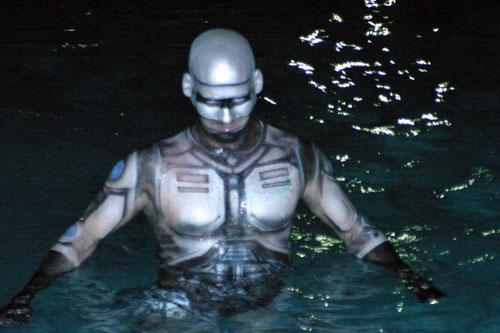 Jason Coleman as RoboCop - in Water?
