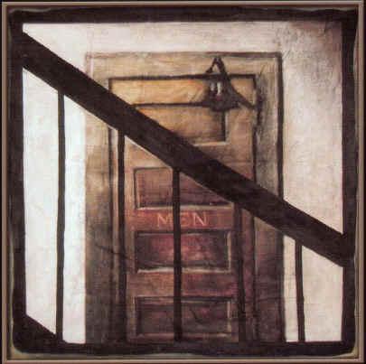 ''Men'' Oil on Canvas 36'' x 36''