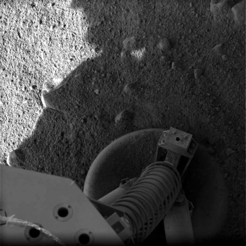 Pheonix Lander Foot