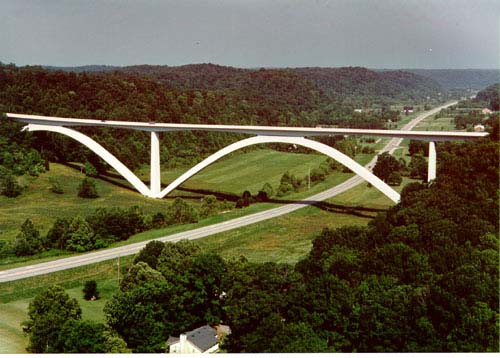 Natchez Trace Parkway Bridge - Courtesy of Federal Highway Administration