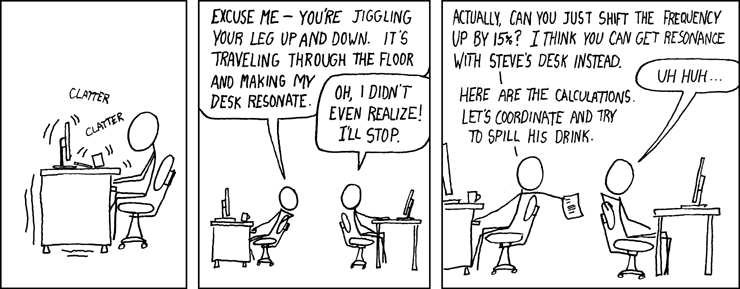 Resonance (by Randall Munroe)