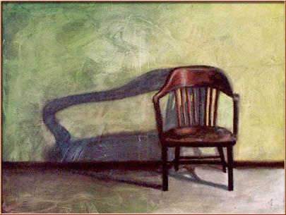 """Wait"" Oil on Canvas 36"" x 48"""