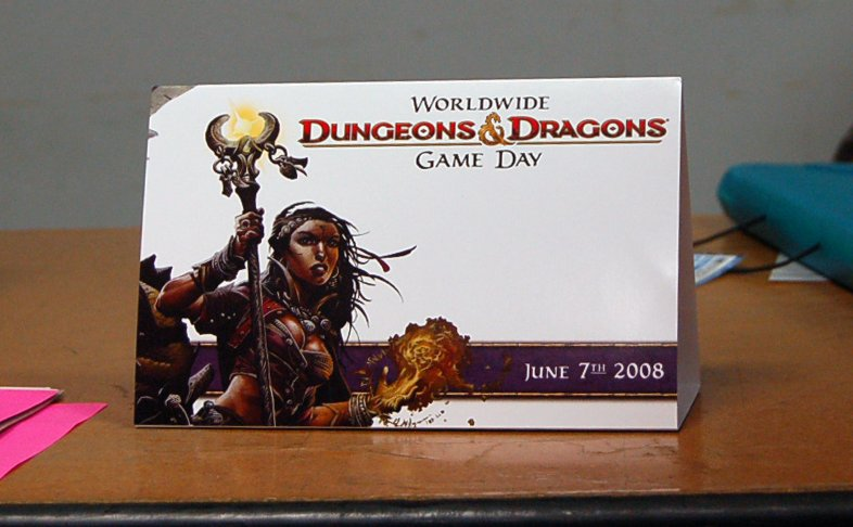 2008 Worldwide D&D Game Day